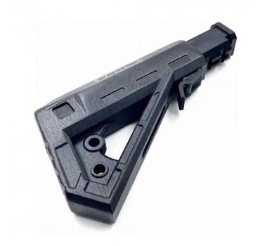 Coronha Stock Para M4 M16 Combattech 3D - Preto