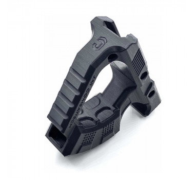 Grip Angular Trilho Picatinny 20mm Jay Combattech ABS - Preto