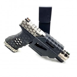 Coldre Cintura Jay Em Abs Para Pistola Glock - Preto