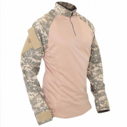 Combat Shirt Tático Digital ACU Fairsoft