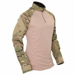 Combat Shirt Tático Multicam Fairsoft