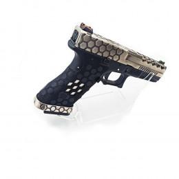 Display Expositor Gear Suporte Pistola Fairsoft - Transparente