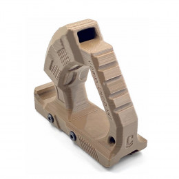 Grip Angular Trilho Picatinny 20mm Jay Combattech ABS - Tan