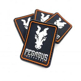 Patch Emborrachado Black Pegasus Esportes