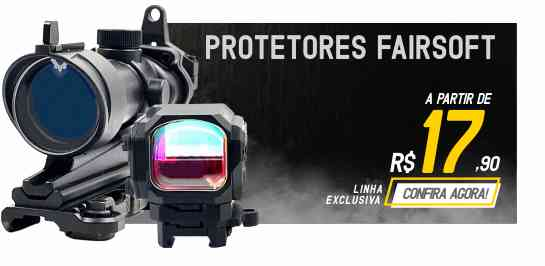 Protetores fairsoft Mira Red Dot
