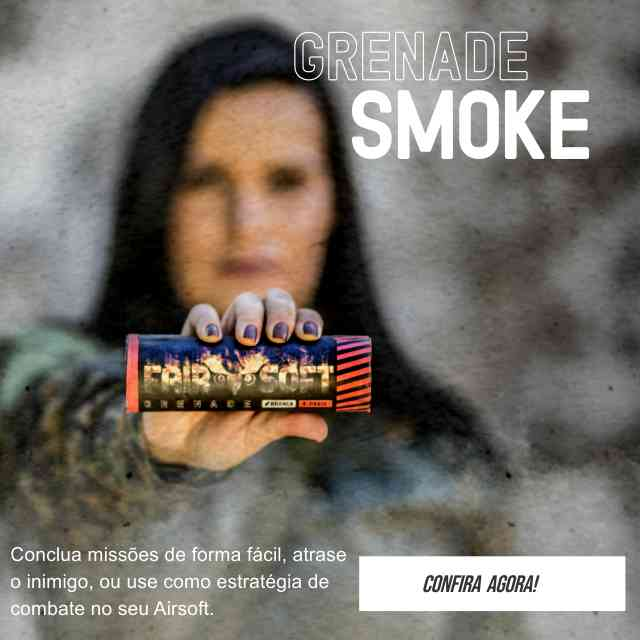 cortina de fumaça smoke grenade